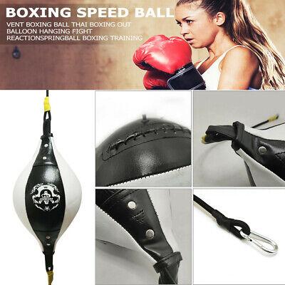AU20.78 • Buy Double End Boxing Bag Dodge Speed Ball Floor To Ceiling Punching Bag AU