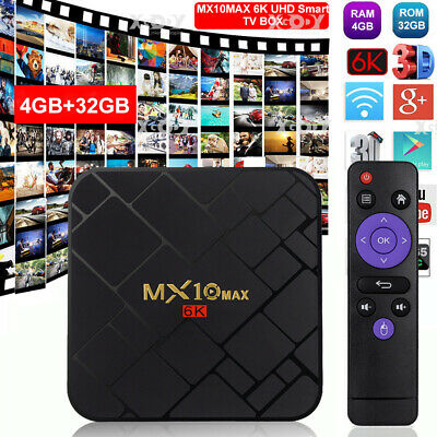 AU41.62 • Buy X96Q 4K Android 10.0 OS Quad Core Media Player Smart TV BOX WIFI HDMI MINI PC AU