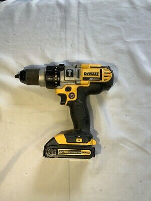 $69.99 • Buy DeWalt 20V Cordless Drill Driver Hammerdrill DCD985 With Battery *No Charger*