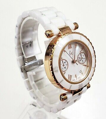 $ CDN111.63 • Buy RARE,UNIQUE Women's SWISS CERAMIC Watch GUESS COLLECTION GC3503L