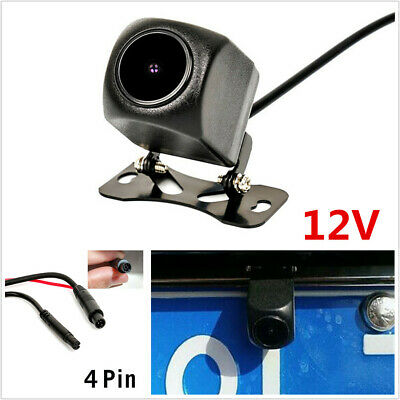 $16.51 • Buy 12V Waterproof Night Sight 1080P Car Rear View Camera With 4 Pin For Car DVR