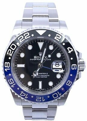 $ CDN23760.21 • Buy Rolex GMT Master-II  Batman  116710BLNR