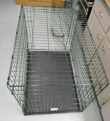 $12.99 • Buy 42  Wire Dog Kennel Crate Cage Folding - Large Dog Size