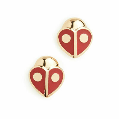 $ CDN32.89 • Buy Kate Spade Red And Gold Animal Party Ladybug Stud Earrings