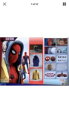 $ CDN721.59 • Buy Hot Toys Spider-man Homecoming Deluxe 1/6 Scale