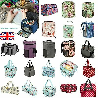 Embroidery Storage Bag Knitting Crochet Hooks Sewing Thread Case Organizer LOT • 16.03£