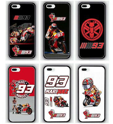 $ CDN10.57 • Buy MARC MARQUEZ MOTO GP 93 Rubber Phone Case Cover For IPhone/ Samsung Galaxy