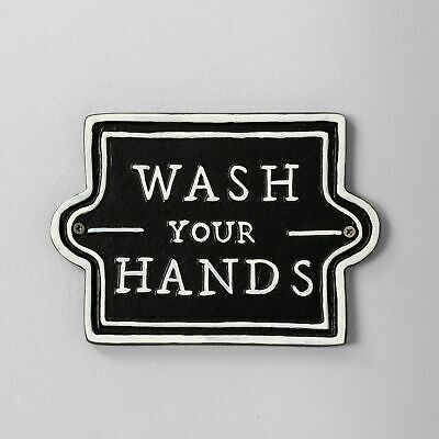 Hearth And Hand With Magnolia - Wash Your Hands Wall Sign/Plaque ~ New • 21.59£