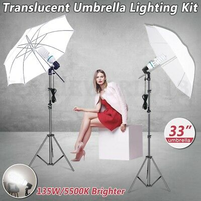 AU52.91 • Buy 1350W Photography Studio 33  Umbrella Light Video Continuous Lighting Stand Kit
