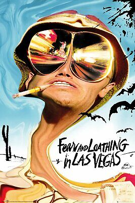 £7.30 • Buy Fear And Loathing In Las Vegas 91.5 X 61cm Maxi Poster New Official Merchandise