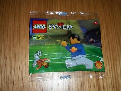 Lego 3305- Shell World Cup 1998 Footballer.  New And Sealed • 3.95£