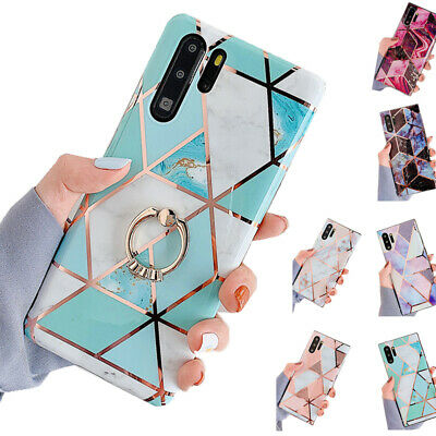 Stylish Marble Soft Case Cover For Huawei P40 Mate 20 Pro P30 Pro Shockproof Gel • 4.30£