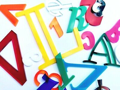 Script Names Letters Words Mirror Acrylic Personalised  Art Font Glitter Plastic • 4.30£
