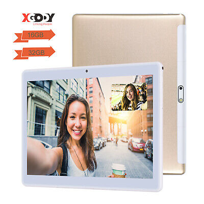 AU115.99 • Buy 10.1  Inch Tablet PC Android Quad Core 16GB/32GB HD WIFI Dual Camera Phablet IPS