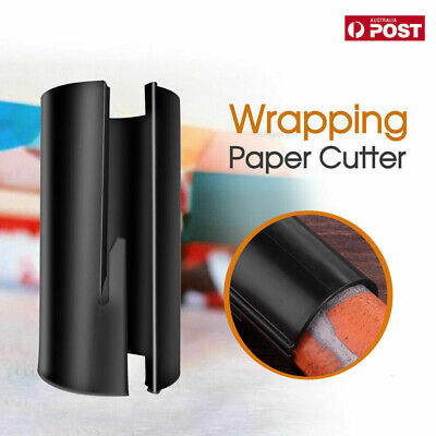 AU7.99 • Buy Sliding Wrapping Paper Cutter Craft Seconds Wrap Paper Christmas Cut Tools VW AU