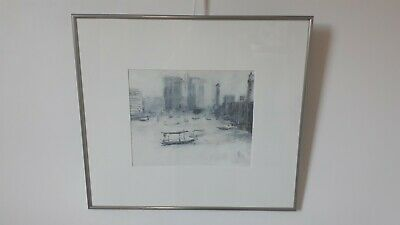 Original Pencil And Oil Pastel Sketch Painting Artwork By Paul Wadsworth • 175£