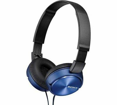 Sony ZX310 On-Ear Headphones - Blue • 9.99£