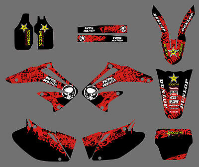 $44.99 • Buy Team Graphics Backgrounds Decals Kit For Honda CRF450 CRF450R 2002-2004 02 03 04