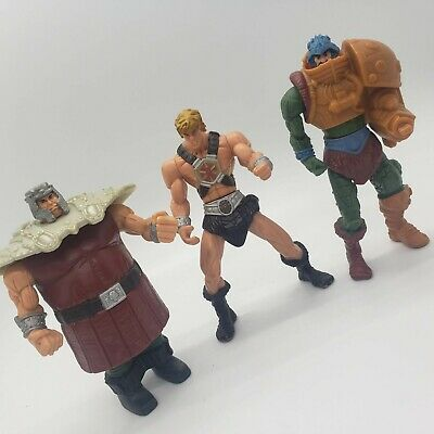 $19.97 • Buy 3 Masters Of The Universe 2003 McDonalds Figures He-man Ram Man Man-at-Arms Lot