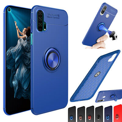 Soft Case Cover For Huawei Honor View 30 + Y9 2019 Magnet  Ring Shockproof Stand • 4.28£