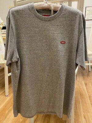 $ CDN108.45 • Buy Supreme SS19 Small Box Logo Tee Grey Medium