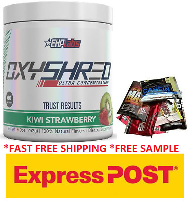 AU69.90 • Buy Ehplabs Oxyshred Ehp Labs Oxy Shred Thermogenic Fat Burning.free Express Ship