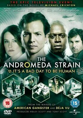 The Andromeda Strain - The Mini-Series - Complete (DVD, 2008, 2-Disc Set) • 10£