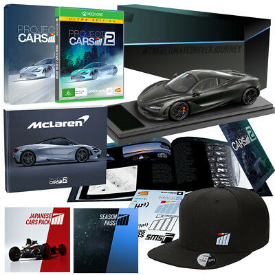 AU799 • Buy Project Cars 2 Ultra Edition Xbox One *BRAND NEW* Collectors McLaren 720S Model