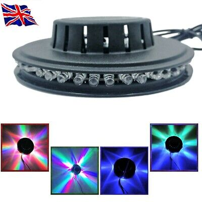 £8.33 • Buy 5W USB RGB Sound Activated Rotating Disco Light LED Ball Party Stage Strobe Lamp