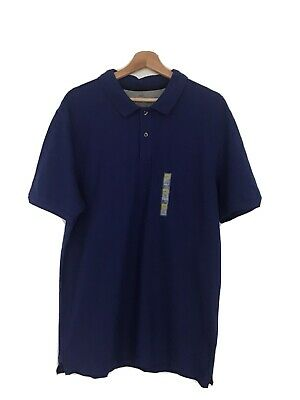Marks And Spencer Mens Polo Shirt Large/pure Cotton • 9.99£