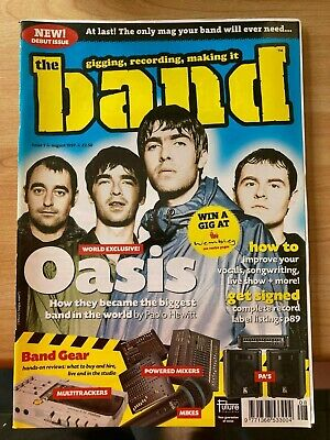 Future Publishing THE BAND Magazine ISSUES 1-8 Preview Oasis Dodgy Dubstar • 50£