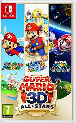 Super Mario 3D All-Stars (Switch) Brand New & Sealed Fast Free UK P&P • 49.99£