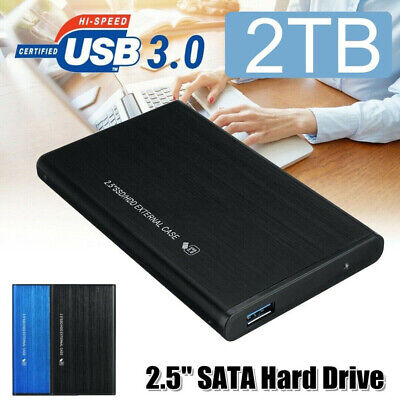 $ CDN52.20 • Buy 2.5  2TB External Hard Disk Drive USB 3.0 HDD Storage Devices For PC Laptop