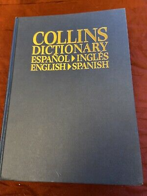 Collins Dictionary English-Spanish & Espanol-lngles • 2£