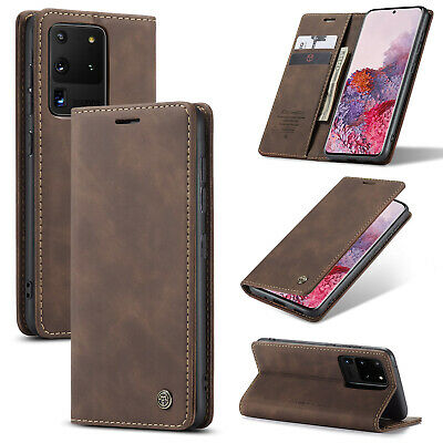 $ CDN10.24 • Buy For Samsung Galaxy Note 20 S20+ Ultra Leather Flip Stand Wallet Card Cover Case