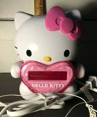 Hello Kitty Projection Alarm Clock/Radio KT 2064 Tested Works! SUPER COOL! • 26.71£