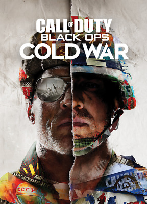 £9.29 • Buy Call Of Duty Black Ops Cold War Video Game Poster Art Print Wall Home Room Decor