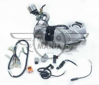 £280 • Buy Complete Engine Assembly Manual 4 Speed 125cc Honda CD50 SS50 Chaly Pitbike C90