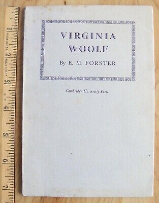 £14.49 • Buy VIRGINIA WOOLF  By E.M. Forster