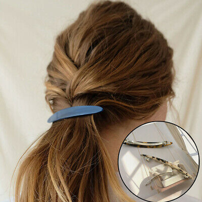 $1.47 • Buy Ponytail Spring Barrette Women Hair Clips Accessories Retro Hair Clips Hairpins