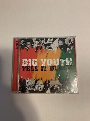 Big Youth Tell It Black CD New/Sealed Snapper Music 2000 UK • 12.30£
