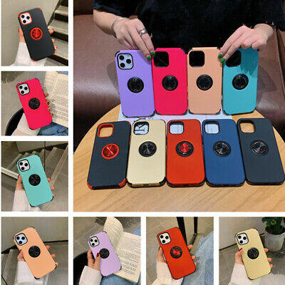 AU5.71 • Buy Shockproof Hybrid Ring Hard Case Cover For IPhone 12 11 Pro Max XS X XR 7 8 Plus