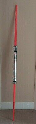 Star Wars Darth Maul Lightsaber Hasbro 2011 Double Ended Cosplay Prop Episode 1 • 69.99£