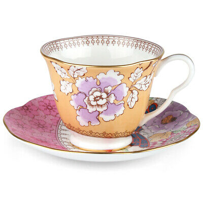 £59.86 • Buy NEW Wedgwood Butterfly Bloom Teacup & Saucer Yellow