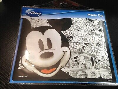 Computer Mouse Pad Mat DISNEY MICKEY MOUSE Mousemat Cartoon PC NEW • 3.95£