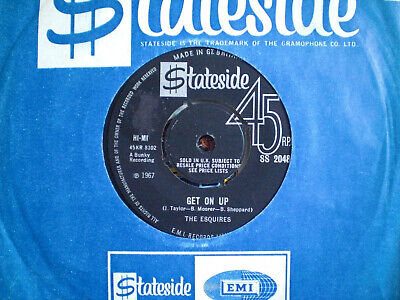 THE ESQUIRES  GET ON UP    Stateside 2048   60s Soul Classic • 20£
