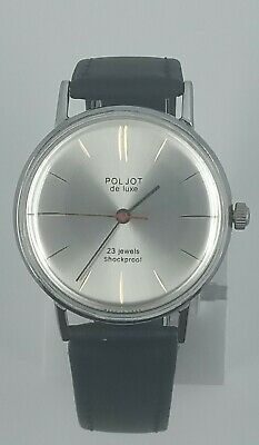 Soviet Watch Poljot De Luxe In Very Good Condition, Mechanical Movement  • 68£