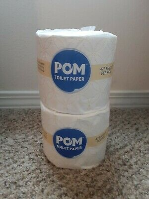 $ CDN11.85 • Buy X7 Individual Wrapped Rolls POM Embossed 2-Ply Toilet Paper, 473 Sheets Per Roll