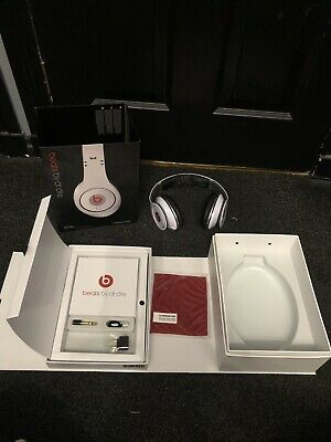 Beats By DR DRE Monster Studio Noise Cancelling Wired Headphones White • 49.99£