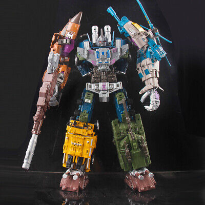 5 In 1 Transformation Bruticus Warbotron Decepticons KO Oversized Toys Figure WB • 15.47£